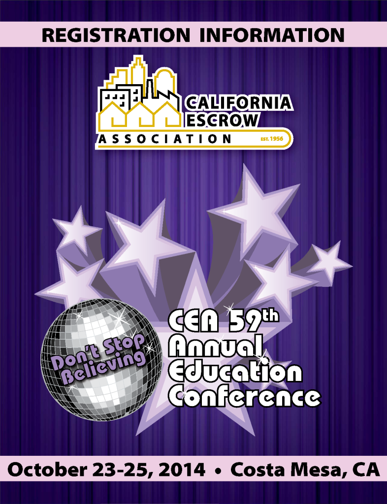 California Escrow Association 59th Annual Educational Conference